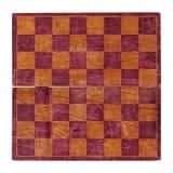 Gammal schackbräde isolerat Arkivfoton