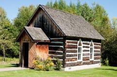 gammal schoolhouse för byggnadsjournal Royaltyfri Fotografi