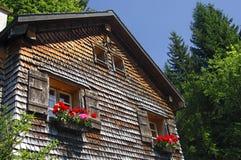 gammal schweizare för chalet Royaltyfri Foto
