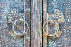 Gammal scratchy bronze textur Royaltyfri Fotografi
