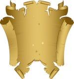gammal scroll royaltyfri illustrationer