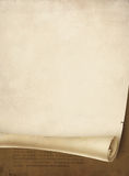 gammal scroll Royaltyfri Fotografi