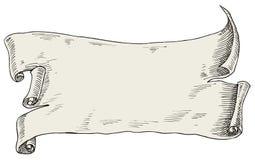 gammal scroll arkivbilder