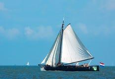 gammal segelbåt Arkivbilder