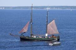 Gammal segelbåt Royaltyfri Foto