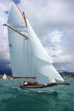 gammal segling för fartyg arkivbild