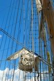 gammal seglingship Royaltyfri Bild