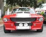 Gammal Shelby Cobra bil Royaltyfri Bild
