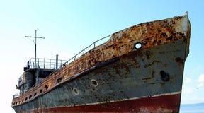gammal ship Fotografering för Bildbyråer