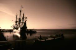gammal ship Arkivbild