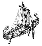 gammal ship Arkivfoto