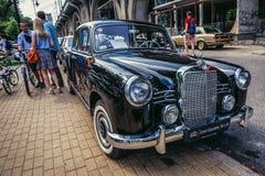 gammal show för bilar Royaltyfria Foton