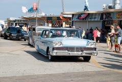 gammal show för bilmode Royaltyfria Foton