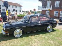 gammal show för bilmode Royaltyfria Bilder