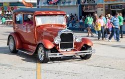 gammal show för bilmode Arkivfoto