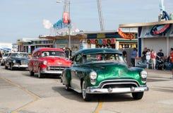 gammal show för bilmode Arkivbilder
