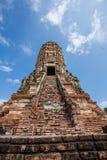 Gammal siam tempel av Ayutthaya Arkivbild