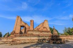 Gammal siam tempel av Ayutthaya Royaltyfri Foto