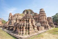 Gammal siam tempel av Ayutthaya Arkivfoto