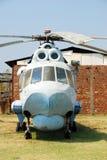 gammal sikt för främre helikopter Fotografering för Bildbyråer