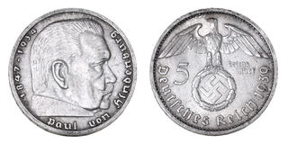 gammal silver för tysk fläck Royaltyfri Foto