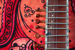 gammal sitar Royaltyfria Bilder
