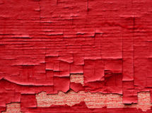 Gammal sjaskig knastrad väggsurrface Royaltyfria Bilder
