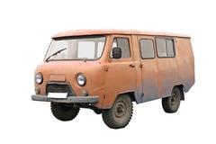 Gammal skåpbil Arkivbild