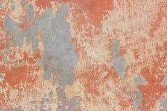 Gammal skalningsmurbruk på väggen royaltyfria foton