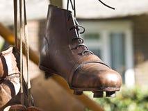 gammal skosport Fotografering för Bildbyråer