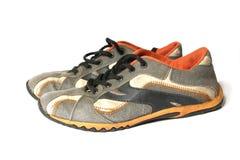 gammal skosport Arkivfoton