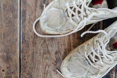 gammal skosport Royaltyfri Fotografi