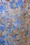 Gammal skrapad betongvägg royaltyfri fotografi