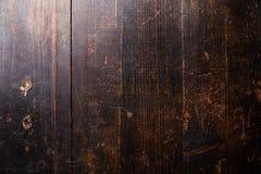 Gammal skrapad trätexturbakgrund Royaltyfri Bild