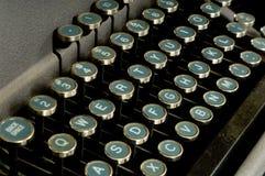 gammal skrivmaskin Arkivfoto