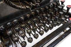 Gammal skrivmaskin 3 Arkivfoto