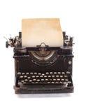 gammal skrivmaskinstappning