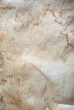 Gammal skrynklig paper textur Fotografering för Bildbyråer
