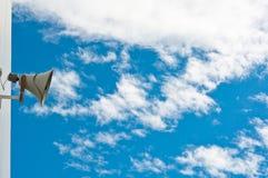 gammal sky för högtalare Royaltyfri Fotografi