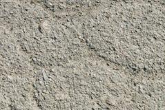 Gammal slitage och cracked asfalt Royaltyfria Bilder