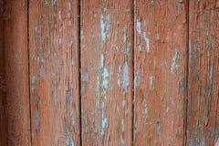 Gammal sliten rostig textur av målarfärgen Arkivfoto