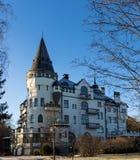 Gammal slott arkivfoton