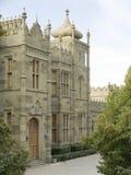 gammal slott Arkivbild