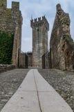Gammal slott av Valeggio Royaltyfri Foto