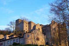 Gammal slott i Baden-Baden Arkivbild
