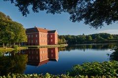 Gammal slott i Danmark Arkivfoton