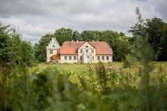 Gammal slott i Polen Royaltyfri Fotografi
