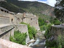 Gammal slott i söderna av Frankrike Royaltyfri Bild