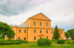 Gammal slott i Ternopil ukraine Royaltyfri Bild