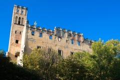 gammal slott poland Fotografering för Bildbyråer